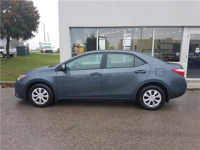 2015 Toyota Corolla CE (Stk: A01577) in Guelph - Image 2 of 26