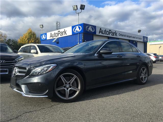 2016 Mercedes-Benz C-Class Base (Stk: 16-44037) in Georgetown - Image 1 of 27
