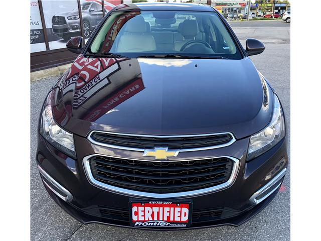 2015 Chevrolet Cruze 2LT (Stk: 219661) in Toronto - Image 2 of 12