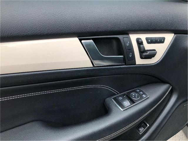2012 Mercedes-Benz C-Class Base (Stk: 180942A) in Whitchurch-Stouffville - Image 18 of 21