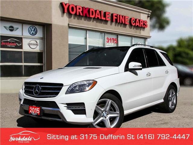 2015 Mercedes-Benz M-Class  (Stk: D2 5644) in Toronto - Image 1 of 29