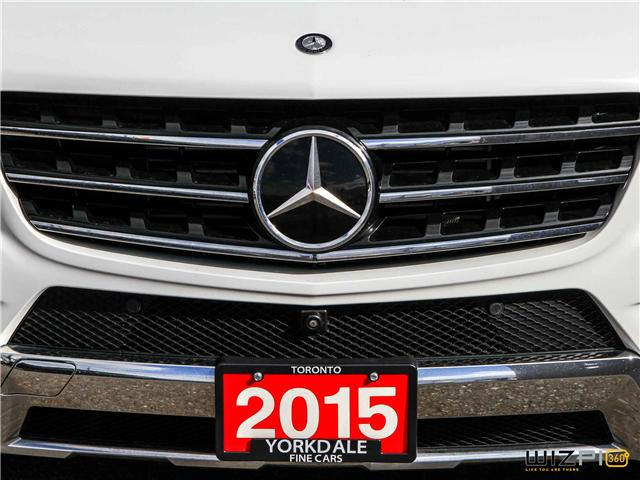 2015 Mercedes-Benz M-Class  (Stk: D2 5644) in Toronto - Image 12 of 30