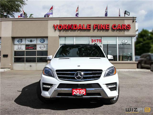 2015 Mercedes-Benz M-Class  (Stk: D2 5644) in Toronto - Image 3 of 30