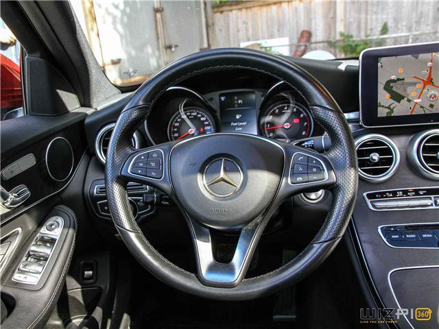 2016 Mercedes-Benz C-Class  (Stk: D2 1996) in Toronto - Image 19 of 27