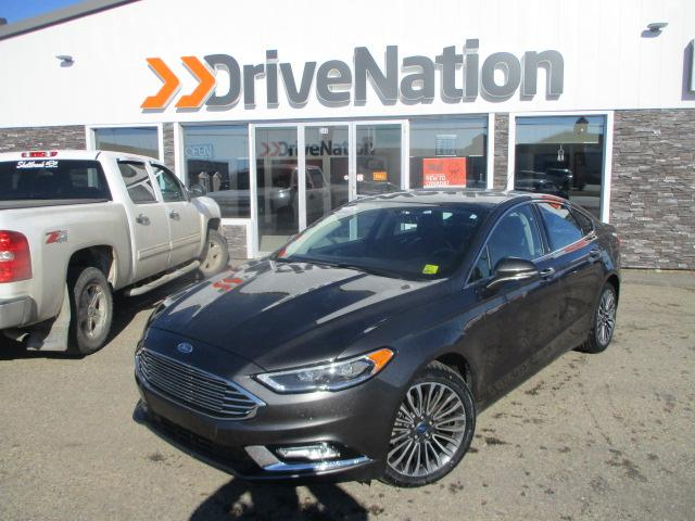 2017 Ford Fusion SE (Stk: B1801) in Prince Albert - Image 1 of 28