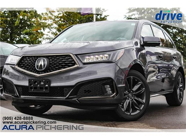 2019 Acura MDX A-Spec (Stk: AT211) in Pickering - Image 1 of 34