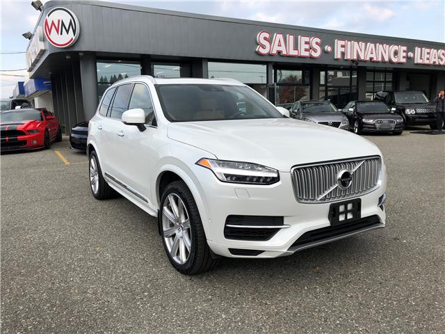 2017 Volvo XC90 Hybrid T8 PHEV Inscription (Stk: 17-142532) in Abbotsford - Image 1 of 19