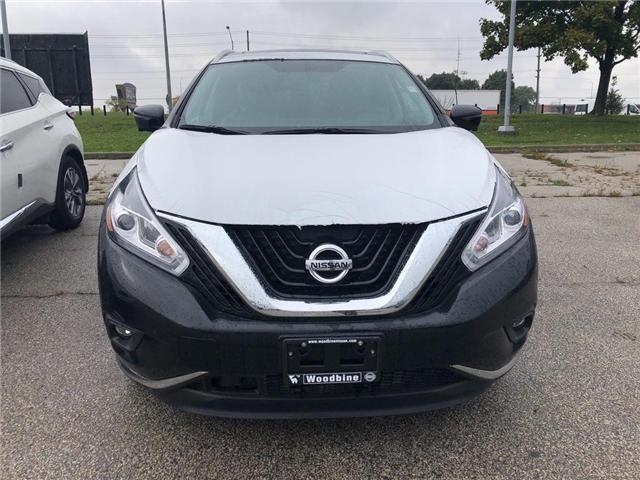 2018 Nissan Murano Platinum (Stk: MU76-18) in Etobicoke - Image 2 of 5
