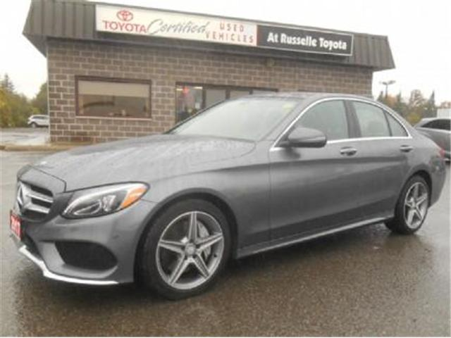 2017 Mercedes-Benz C-Class Base (Stk: U7272) in Peterborough - Image 1 of 12