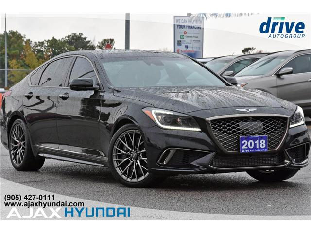 2018 Genesis G80  (Stk: P4579) in Ajax - Image 1 of 33