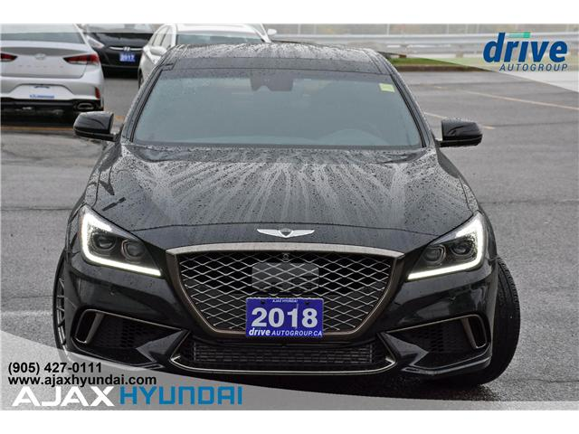 2018 Genesis G80  (Stk: P4579) in Ajax - Image 2 of 33