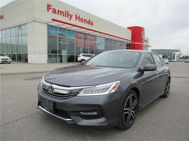 2017 Honda Accord Touring V6, FREE WARRANTY! (Stk: 8504796A) in Brampton - Image 1 of 29