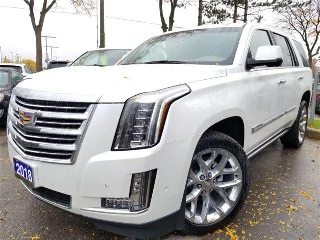 2018 Cadillac Escalade EXT PLATINUM AS NEW YOU SEE IT/LOW (Stk: op9848) in Mississauga - Image 1 of 24