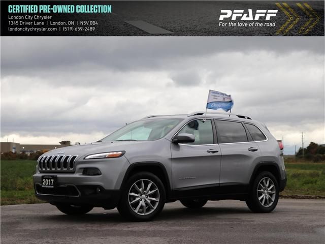 2017 Jeep Cherokee Limited (Stk: 9077A) in London - Image 1 of 24