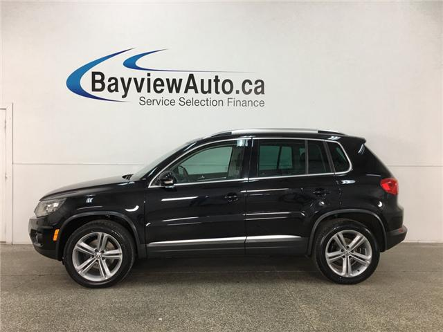 2017 Volkswagen Tiguan Highline (Stk: 33673W) in Belleville - Image 1 of 29