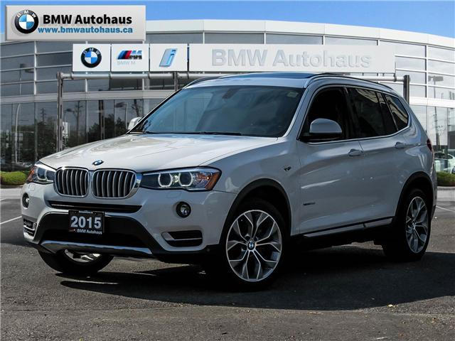 2015 BMW X3 xDrive28d (Stk: P8560) in Thornhill - Image 1 of 23
