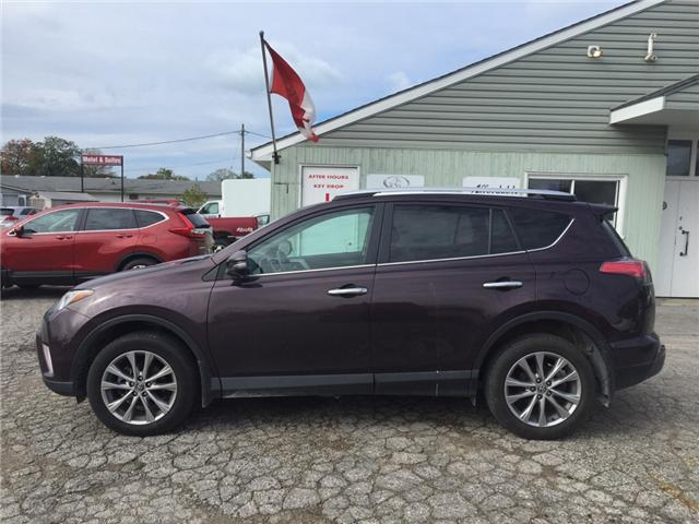 2016 Toyota RAV4 Limited (Stk: -U09618) in Kincardine - Image 2 of 13