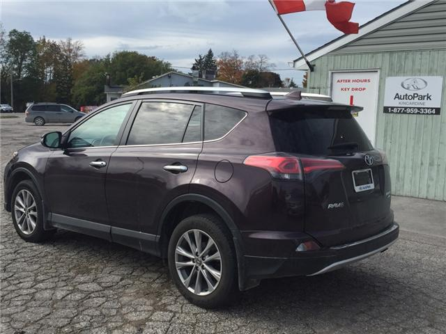 2016 Toyota RAV4 Limited (Stk: -U09618) in Kincardine - Image 3 of 13