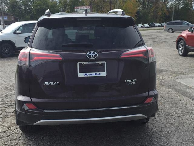 2016 Toyota RAV4 Limited (Stk: -U09618) in Kincardine - Image 4 of 13