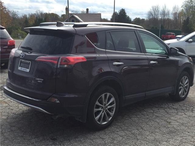 2016 Toyota RAV4 Limited (Stk: -U09618) in Kincardine - Image 5 of 13