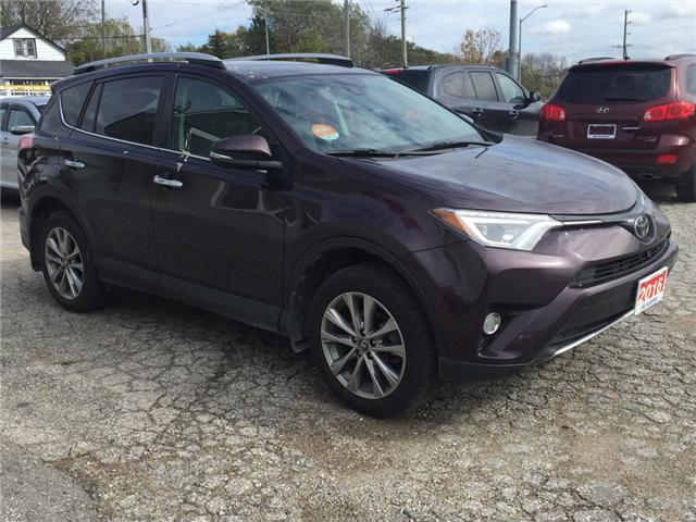 2016 Toyota RAV4 Limited (Stk: -U09618) in Kincardine - Image 7 of 13