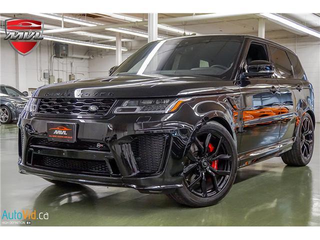 2018 Land Rover Range Rover Sport SVR (Stk: ) in Oakville - Image 1 of 47
