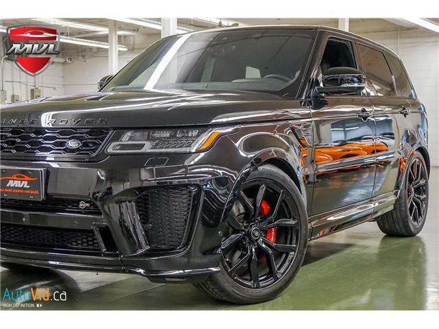 2018 Land Rover Range Rover Sport SVR (Stk: ) in Oakville - Image 2 of 47