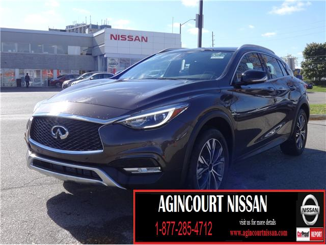 2017 Infiniti QX30 Base (Stk: U12286) in Scarborough - Image 1 of 21