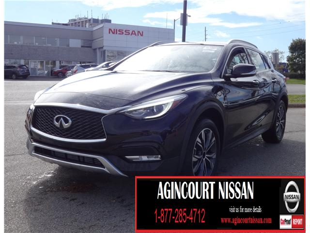 2017 Infiniti QX30 Base (Stk: U12287) in Scarborough - Image 1 of 23