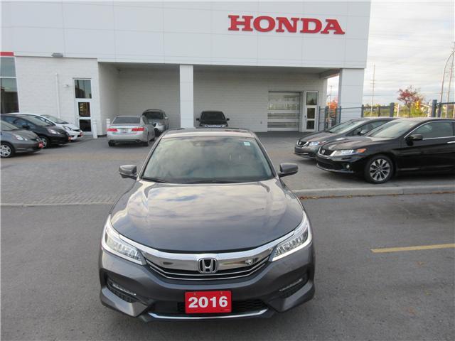2016 Honda Accord Touring (Stk: 25897L) in Ottawa - Image 2 of 10