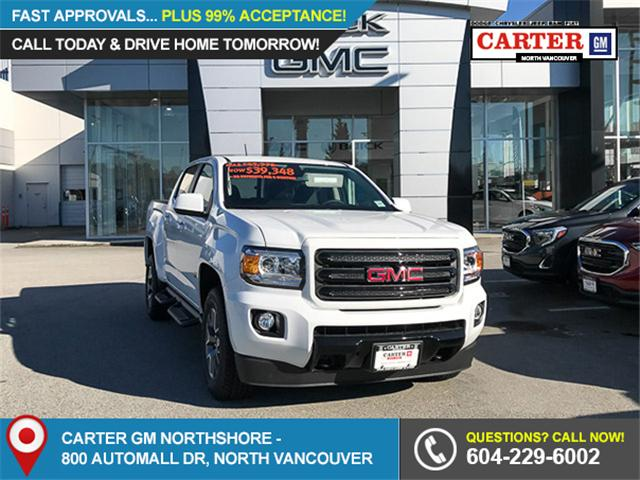 2018 GMC Canyon SLT (Stk: 8CN48070) in Vancouver - Image 1 of 10