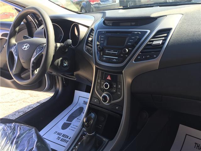 2015 Hyundai Elantra GL (Stk: -) in Toronto - Image 13 of 18