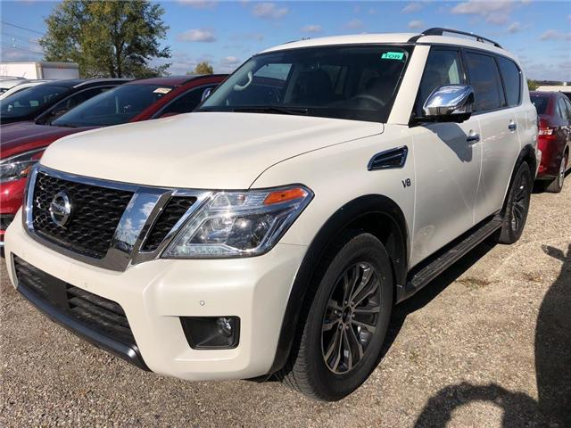 2019 Nissan Armada SL (Stk: V0016) in Cambridge - Image 1 of 5