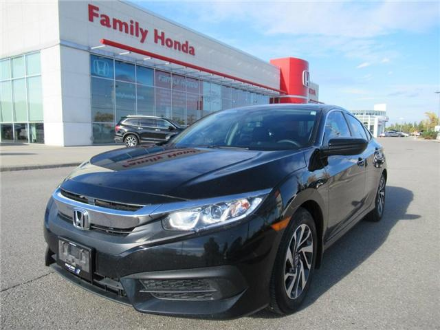 2016 Honda Civic EX, EXTENDED WARRANTY INCLUDED! (Stk: 8138425A) in Brampton - Image 1 of 29