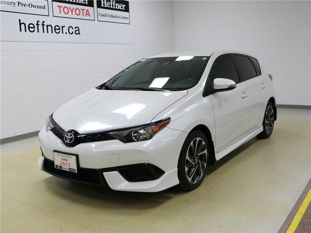 2017 Toyota Corolla iM Base JTNKARJE3HJ527617 186242 in Kitchener