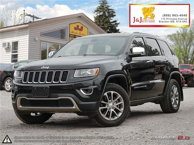 2014 Jeep Grand Cherokee Limited (Stk: J18080) in Brandon - Image 1 of 27