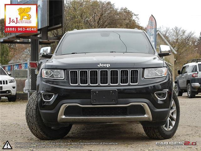 2014 Jeep Grand Cherokee Limited (Stk: J18080) in Brandon - Image 2 of 27