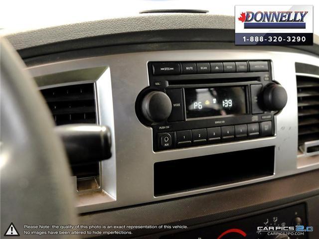 2007 Dodge Ram 1500  (Stk: PBWDR1174A) in Ottawa - Image 19 of 28
