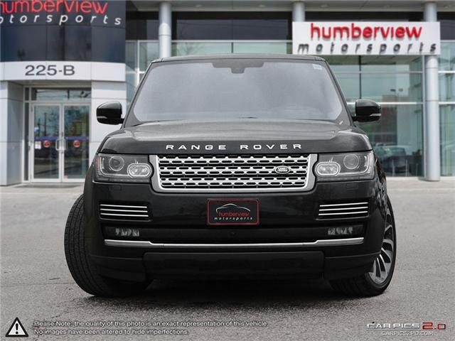 2016 Land Rover Range Rover 5.0L V8 Supercharged Autobiography (Stk: 18MSC630) in Mississauga - Image 2 of 27
