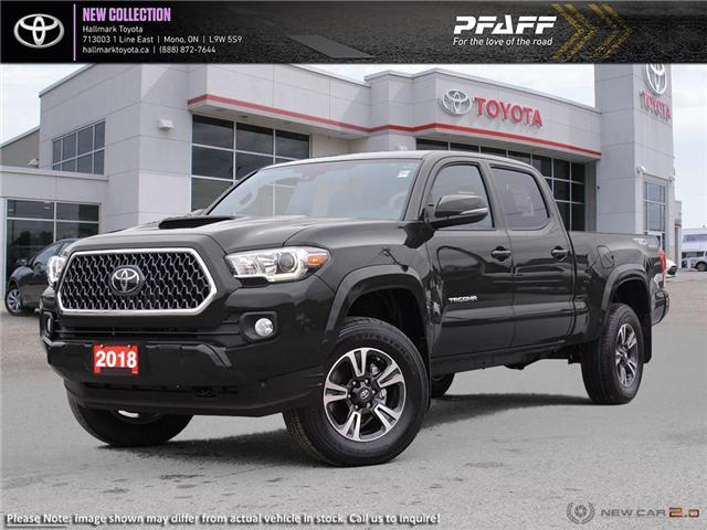 2018 Toyota Tacoma 4x4 Double Cab V6 SR5 6A (Stk: H18799) in Orangeville - Image 1 of 22