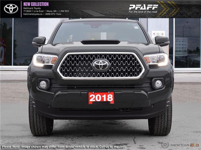 2018 Toyota Tacoma 4x4 Double Cab V6 SR5 6A (Stk: H18799) in Orangeville - Image 2 of 22