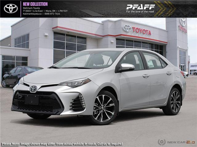 2019 Toyota Corolla 4-door Sedan SE CVTi-S (Stk: H19034) in Orangeville - Image 1 of 24
