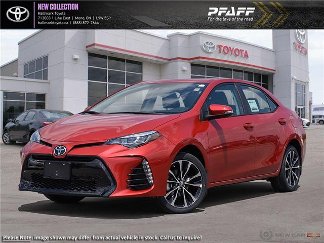 2019 Toyota Corolla 4-door Sedan SE CVTi-S (Stk: H19041) in Orangeville - Image 1 of 23