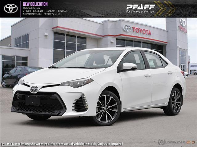 2019 Toyota Corolla 4-door Sedan SE CVTi-S (Stk: H19079) in Orangeville - Image 1 of 24