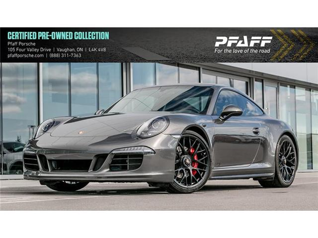 2015 Porsche 911 Carrera 4 GTS Coupe PDK (Stk: P12954A) in Vaughan - Image 1 of 15