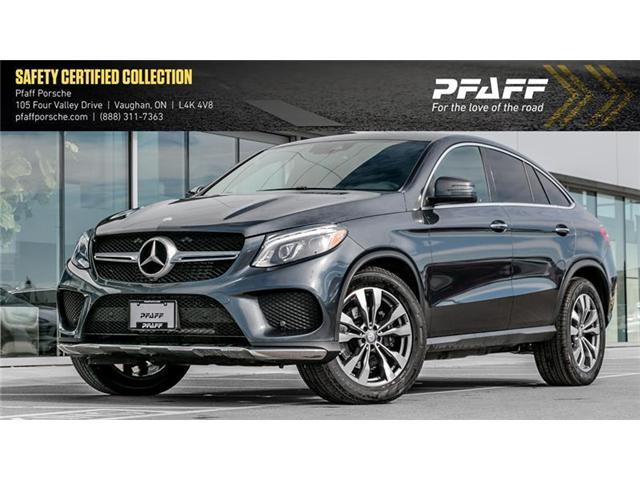 2016 Mercedes-Benz GLE350d 4MATIC Coupe (Stk: P13332A) in Vaughan - Image 1 of 17