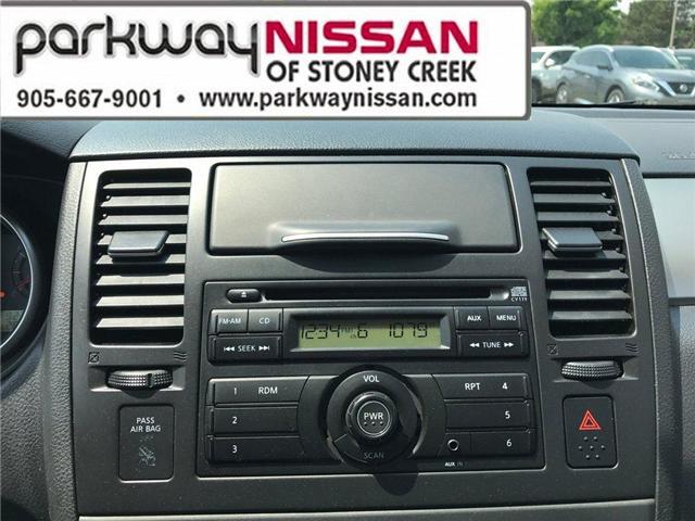 2012 Nissan Versa  (Stk: N1295) in Hamilton - Image 16 of 18