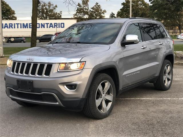 2014 Jeep Grand Cherokee Limited (Stk: 435534T) in Brampton - Image 1 of 3