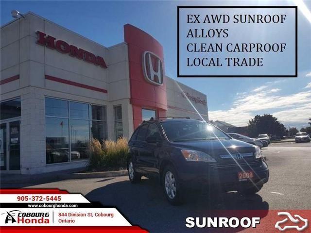 2008 Honda CR-V EX (Stk: STK816805) in Cobourg - Image 1 of 13