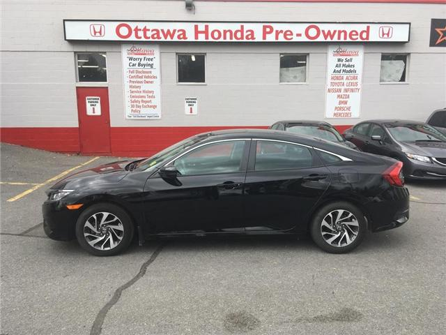 2016 Honda Civic EX (Stk: H7293-0) in Ottawa - Image 1 of 23
